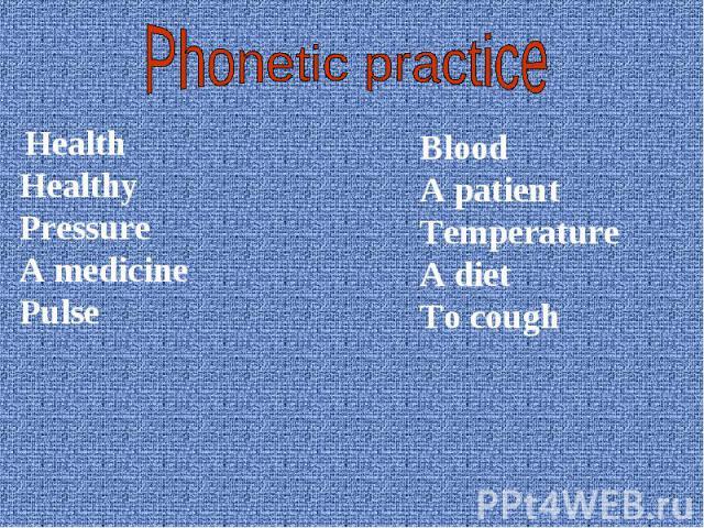 Health Health Healthy Pressure A medicine Pulse