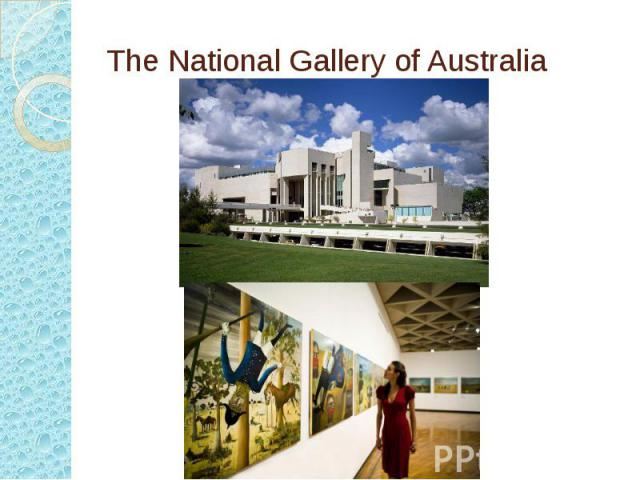 The National Gallery of Australia