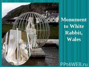 Monument to White Rabbit, Wales