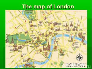 The map of London