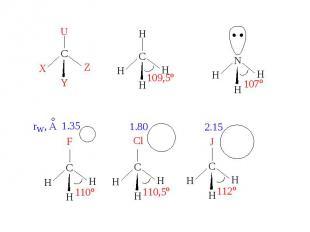 Правило Бента: В соединениях углерода и некоторых других элементов 2-ого периода