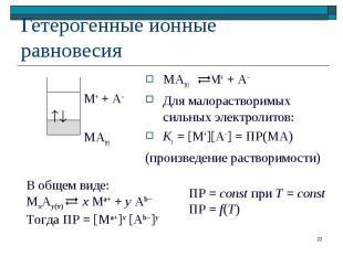 М+ + А– МА(т)