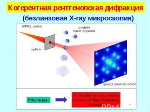 Когерентная рентгеновская дифракция