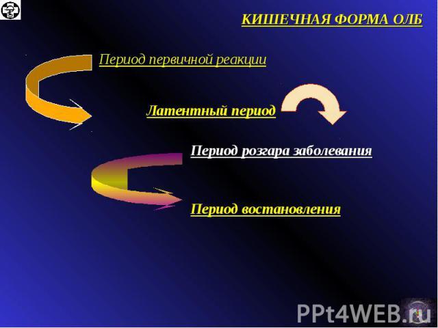 КИШЕЧНАЯ ФОРМА ОЛБ