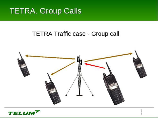 TETRA. Group Calls