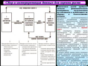 Взаимосвязи между предпола-гаемыми фенотипическими изменениями, экологическими п