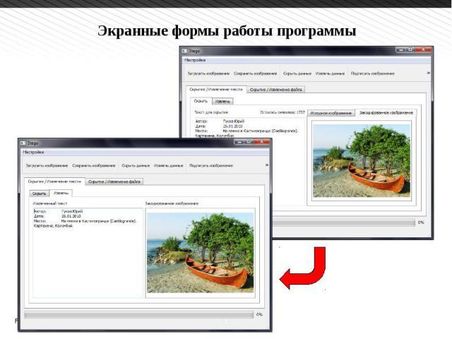 Применение стеганографических методов для занесения идентифицирующей информации в растровые изображения