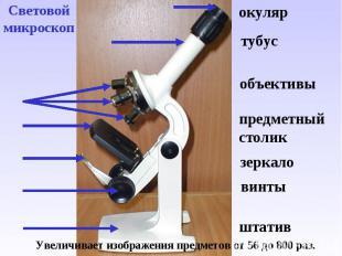 Устройство увеличительных приборов