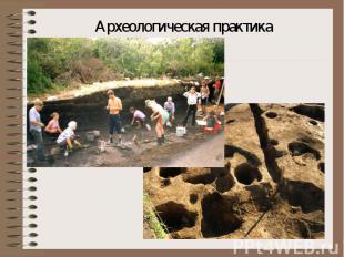 Археологическая практика