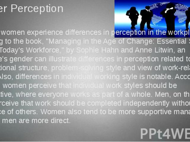the perception of gender and sexuality in japan Gender stereotypes and the perception of male and female candidates created date: 20160810231103z.