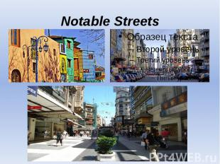 Notable Streets