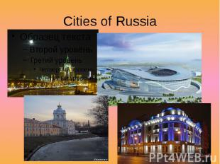Cities of Russia