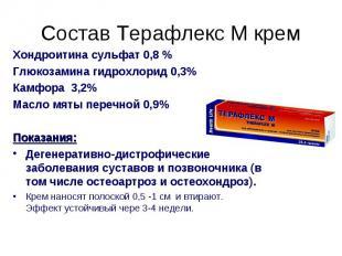 Хондроитина сульфат 0,8 % Хондроитина сульфат 0,8 % Глюкозамина гидрохлорид 0,3%