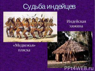 Судьба индейцев