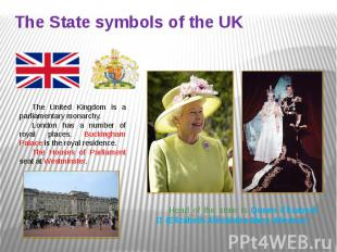 The State symbols of the UK
