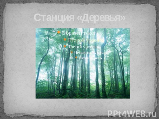 Станция «Деревья»