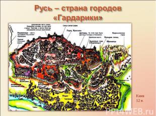 Русь – страна городов «Гардарики»