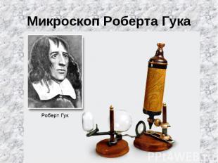 Микроскоп Роберта Гука