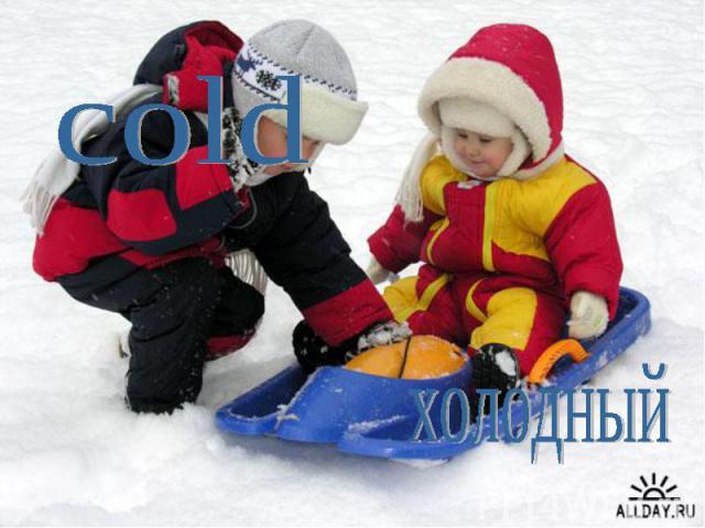 coldхолодный