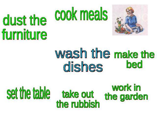 wash thedishes