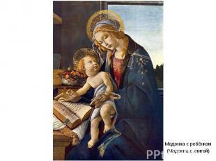 Мадонна с ребёнком(Мадонна с книгой)