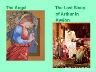 The Angel The Last Sleep of Arthur in Avalon