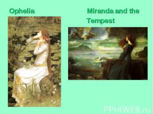 Ophelia Miranda and the Tempest