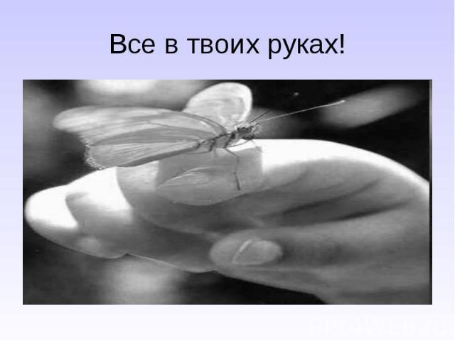 Все в твоих руках!