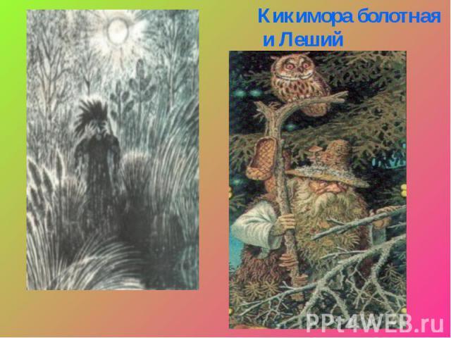Кикимора болотная и Леший