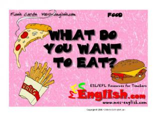 What do you want to eat?