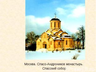Москва. Спасо-Андроников монастырь. Спасский собор