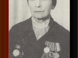 Олимпиада Александровна Зарецкая