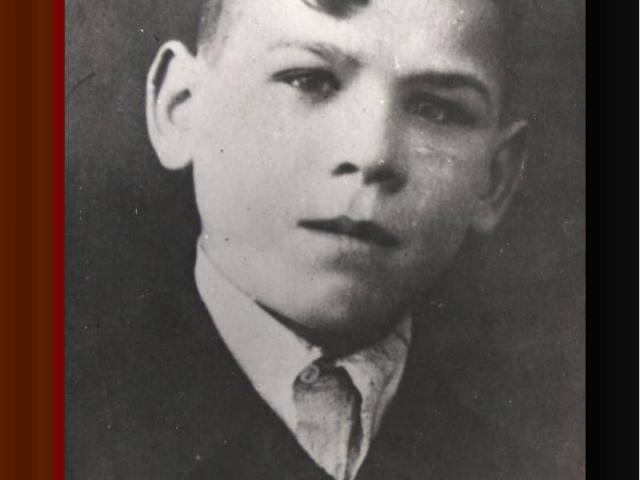 Член подпольной комсомольско-молодежной группыМихаил Цурилин
