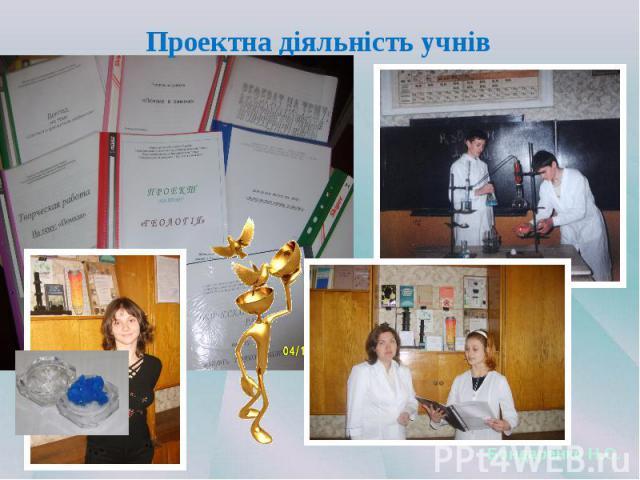 Проектна діяльність учнів