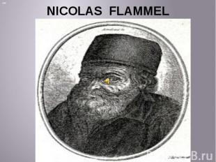NICOLAS FLAMMEL